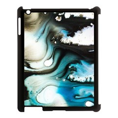 Abstract Painting Background Modern Apple Ipad 3/4 Case (black)
