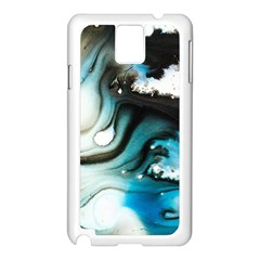 Abstract Painting Background Modern Samsung Galaxy Note 3 N9005 Case (white)