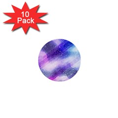 Background Art Abstract Watercolor 1  Mini Buttons (10 Pack)