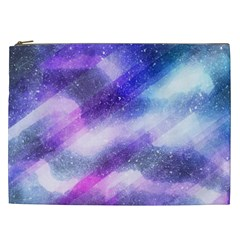 Background Art Abstract Watercolor Cosmetic Bag (xxl)  by Nexatart