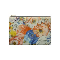 Texture Fabric Textile Detail Cosmetic Bag (medium)  by Nexatart