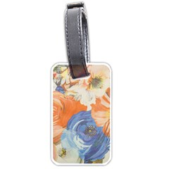 Texture Fabric Textile Detail Luggage Tags (one Side)