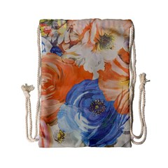 Texture Fabric Textile Detail Drawstring Bag (small)