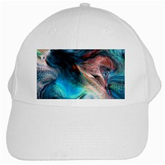 Background Art Abstract Watercolor White Cap by Nexatart