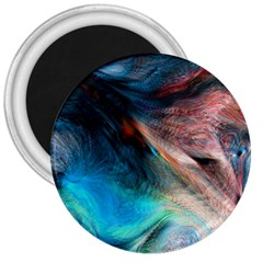 Background Art Abstract Watercolor 3  Magnets by Nexatart