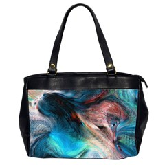 Background Art Abstract Watercolor Office Handbags (2 Sides)