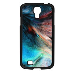 Background Art Abstract Watercolor Samsung Galaxy S4 I9500/ I9505 Case (black)