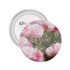 Flowers Roses Art Abstract Nature 2 25  Buttons by Nexatart