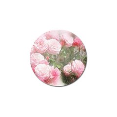 Flowers Roses Art Abstract Nature Golf Ball Marker (4 Pack)