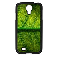 Leaf Nature Green The Leaves Samsung Galaxy S4 I9500/ I9505 Case (black) by Nexatart
