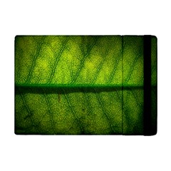 Leaf Nature Green The Leaves Ipad Mini 2 Flip Cases by Nexatart