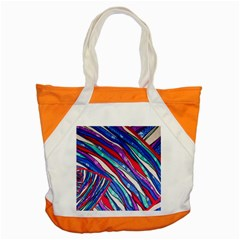 Texture Pattern Fabric Natural Accent Tote Bag