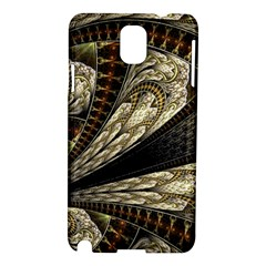 Fractal Abstract Pattern Spiritual Samsung Galaxy Note 3 N9005 Hardshell Case by Nexatart
