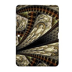 Fractal Abstract Pattern Spiritual Samsung Galaxy Tab 2 (10 1 ) P5100 Hardshell Case