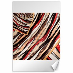 Fabric Texture Color Pattern Canvas 24  X 36