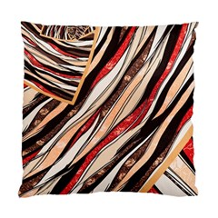 Fabric Texture Color Pattern Standard Cushion Case (one Side) by Nexatart