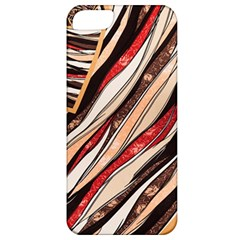 Fabric Texture Color Pattern Apple Iphone 5 Classic Hardshell Case