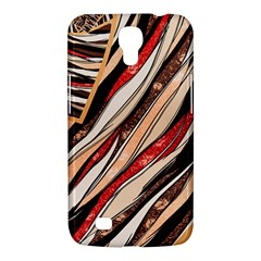 Fabric Texture Color Pattern Samsung Galaxy Mega 6 3  I9200 Hardshell Case