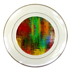 Color Abstract Background Textures Porcelain Plates