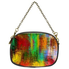 Color Abstract Background Textures Chain Purses (one Side)  by Nexatart