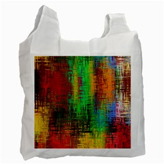 Color Abstract Background Textures Recycle Bag (one Side) by Nexatart
