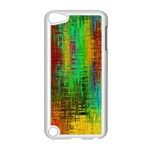 Color Abstract Background Textures Apple iPod Touch 5 Case (White) Front