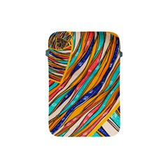 Fabric Texture Color Pattern Apple Ipad Mini Protective Soft Cases