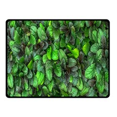 The Leaves Plants Hwalyeob Nature Fleece Blanket (small)