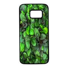 The Leaves Plants Hwalyeob Nature Samsung Galaxy S7 Black Seamless Case