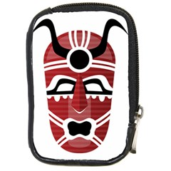 Africa Mask Face Hunter Jungle Devil Compact Camera Cases