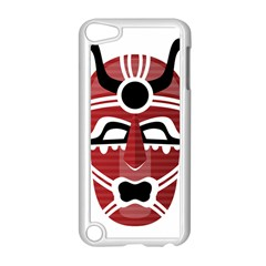 Africa Mask Face Hunter Jungle Devil Apple Ipod Touch 5 Case (white)