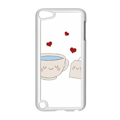 Cute Tea Apple Ipod Touch 5 Case (white) by Valentinaart