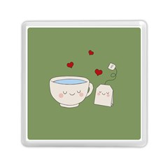 Cute Tea Memory Card Reader (square)