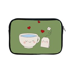 Cute Tea Apple Ipad Mini Zipper Cases by Valentinaart