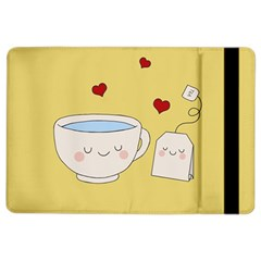 Cute Tea Ipad Air 2 Flip by Valentinaart