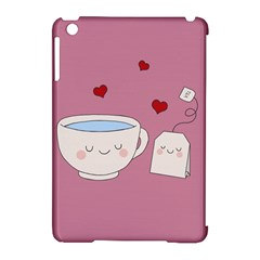 Cute Tea Apple Ipad Mini Hardshell Case (compatible With Smart Cover) by Valentinaart