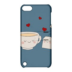 Cute Tea Apple Ipod Touch 5 Hardshell Case With Stand by Valentinaart