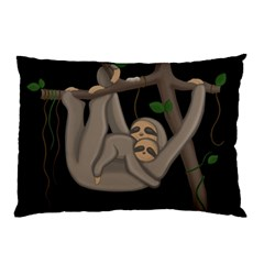 Cute Sloth Pillow Case (two Sides) by Valentinaart