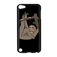 Cute Sloth Apple Ipod Touch 5 Case (black)