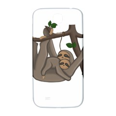 Cute Sloth Samsung Galaxy S4 I9500/i9505  Hardshell Back Case by Valentinaart