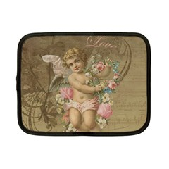 Cupid   Vintage Netbook Case (small)  by Valentinaart