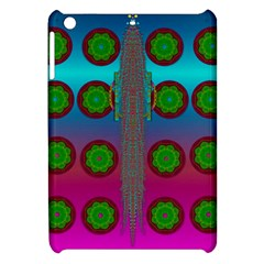Meditative Abstract Temple Of Love And Meditation Apple Ipad Mini Hardshell Case by pepitasart