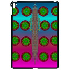 Meditative Abstract Temple Of Love And Meditation Apple Ipad Pro 9 7   Black Seamless Case