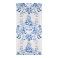 Beautiful,pale Blue,floral,shabby Chic,pattern Shower Curtain 36  X 72  (stall)  by 8fugoso
