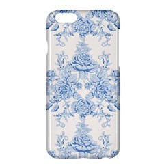 Beautiful,pale Blue,floral,shabby Chic,pattern Apple Iphone 6 Plus/6s Plus Hardshell Case by 8fugoso
