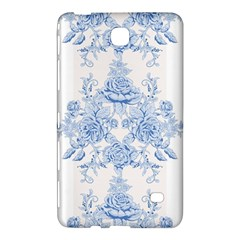Beautiful,pale Blue,floral,shabby Chic,pattern Samsung Galaxy Tab 4 (8 ) Hardshell Case  by 8fugoso