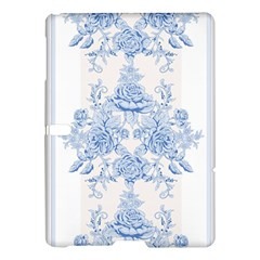 Beautiful,pale Blue,floral,shabby Chic,pattern Samsung Galaxy Tab S (10 5 ) Hardshell Case  by 8fugoso