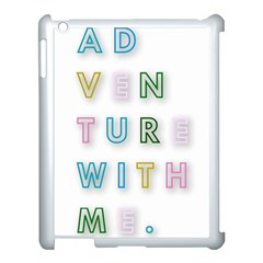 Adventure With Me Apple Ipad 3/4 Case (white) by 8fugoso