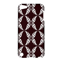Crimson Print Apple Ipod Touch 5 Hardshell Case by julissadesigns