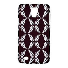 Crimson Print Galaxy S4 Active by julissadesigns